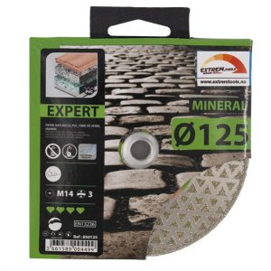 Diamantslipeskive Expert Mineral 125 mm